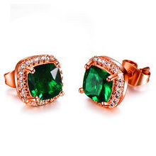 Load image into Gallery viewer, Sparkle Crystals Stud Earrings