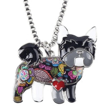 Load image into Gallery viewer, Yorkshire Dog Pendant Necklace