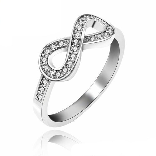 Infinity Love CZ Ring