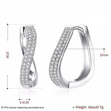 Load image into Gallery viewer, Glamour Curved Earrings