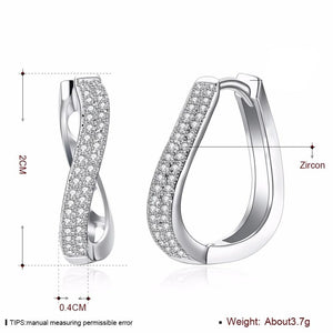 Glamour Curved Earrings