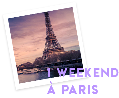 1 weekend à Paris