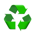 Bouteille recyclable