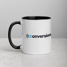 Load image into Gallery viewer, Conversions Logo Coffee Mug