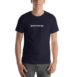 good energy tee (black)