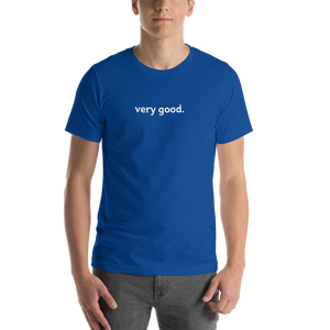 very good tee (black)