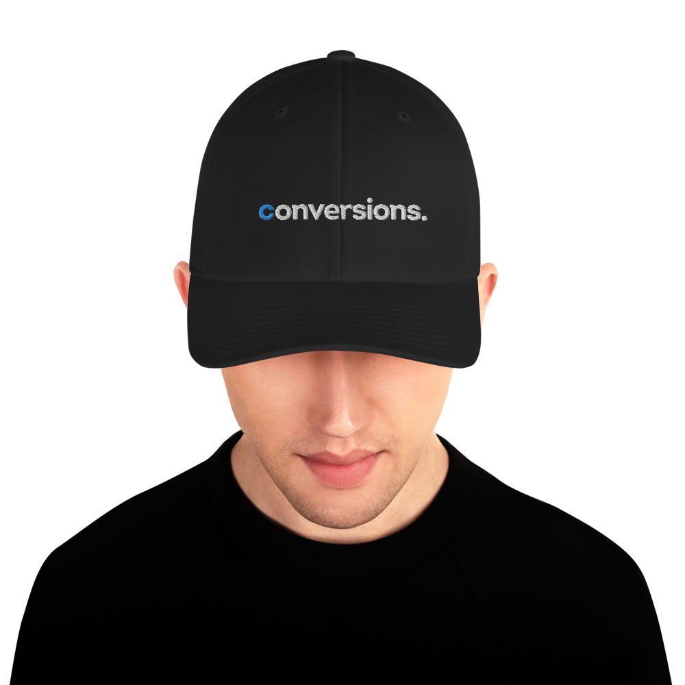 Conversions Embroidered Structured Twill Cap