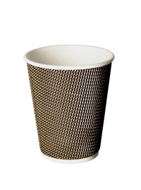 12oz Double Wall Hot Paper Tea Coffee Cups