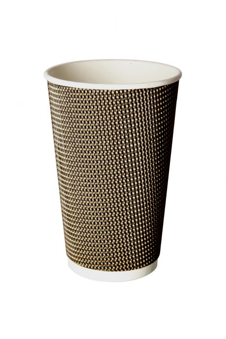 16oz Double Wall Hot Paper Tea Coffee Cups