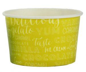 8oz Paper Ice Cream Tubs (Melody) - Gafbros
