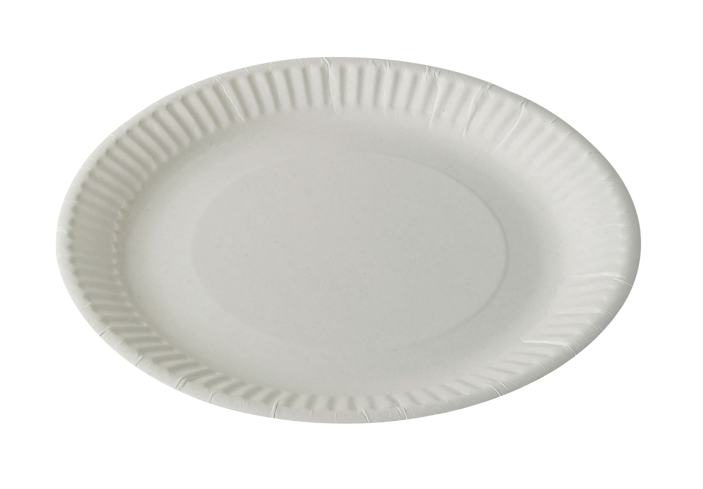 7'' inch 18cm Disposable Paper Plates Used for Catering and Food Takeaway