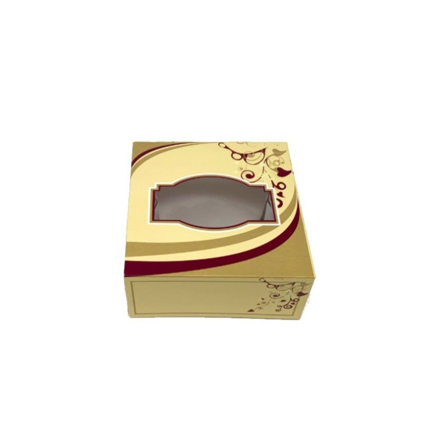 GL3 Cream Sweet Boxes 152x152x38mm - Gafbros