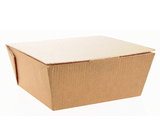 Medium Corrugated Food To Go Meal Boxes - Gafbros