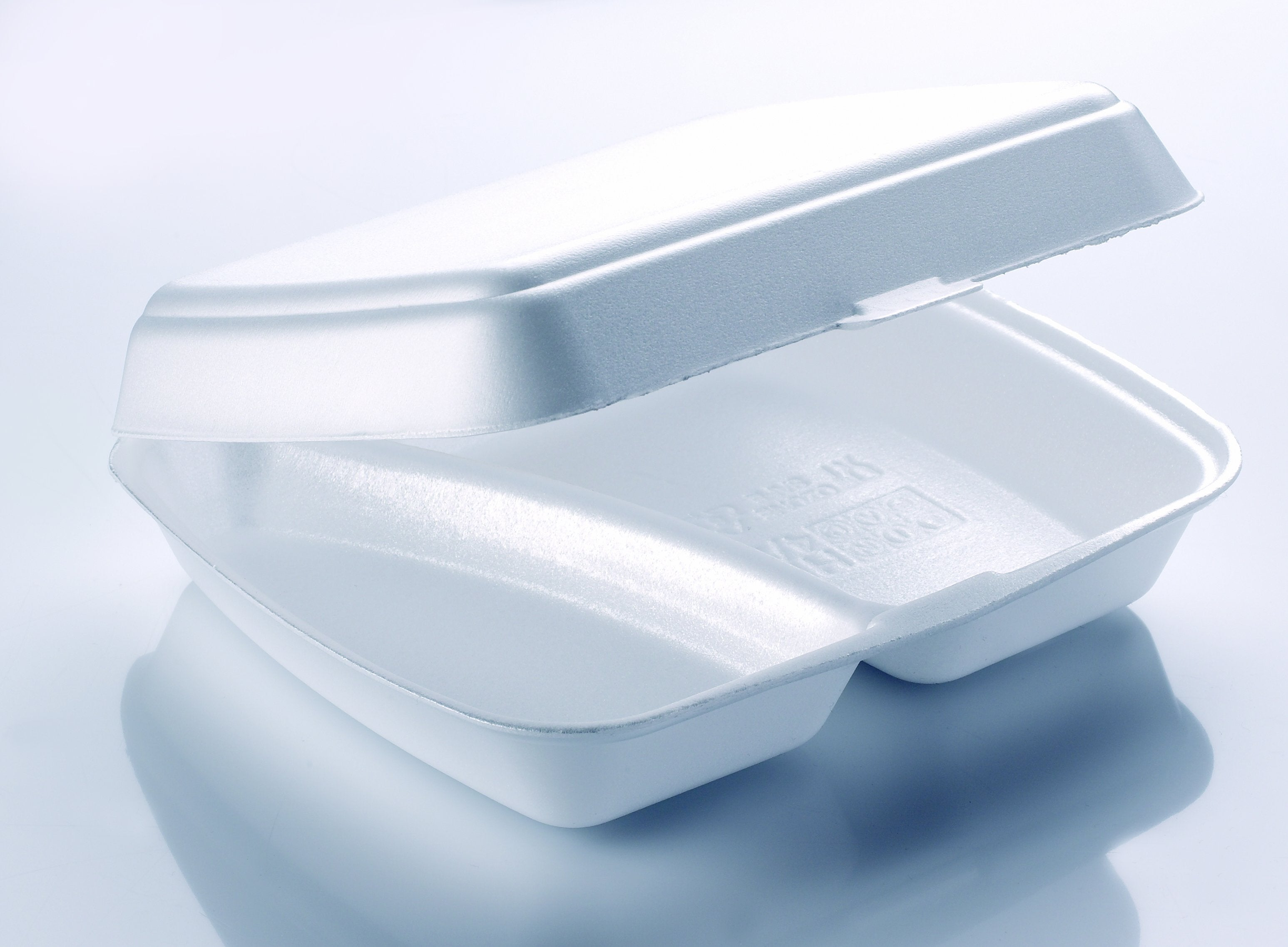 HP4/2 White Foam Meal Boxes - Gafbros