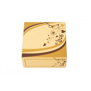 GL0 Cream Sweet Boxes 100x100x50mm - Gafbros