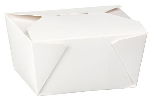 No1 White Food Boxes (26oz) - Gafbros