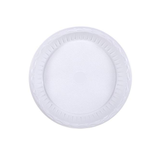 "10"" (26cm) Plastic Plates (Light Duty) - Gafbros"