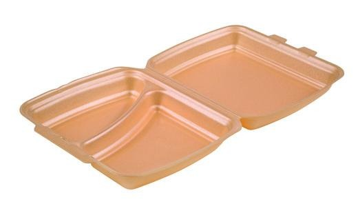 HP4/2 Champagne Foam Meal Boxes - Gafbros