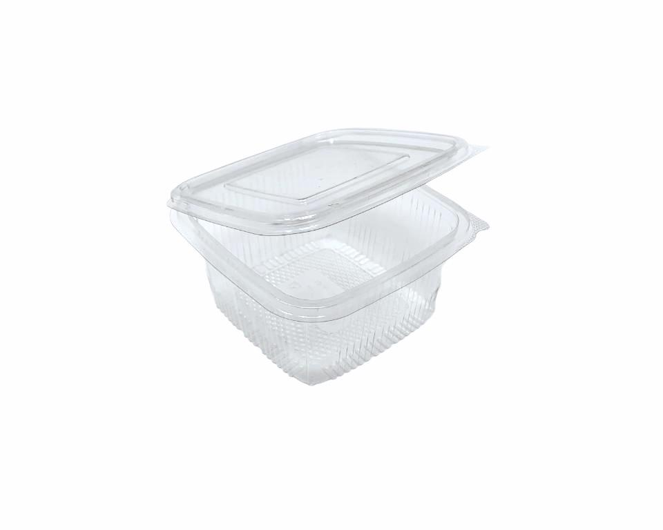 250cc Square Hinged Containers 113x113x42 - Gafbros