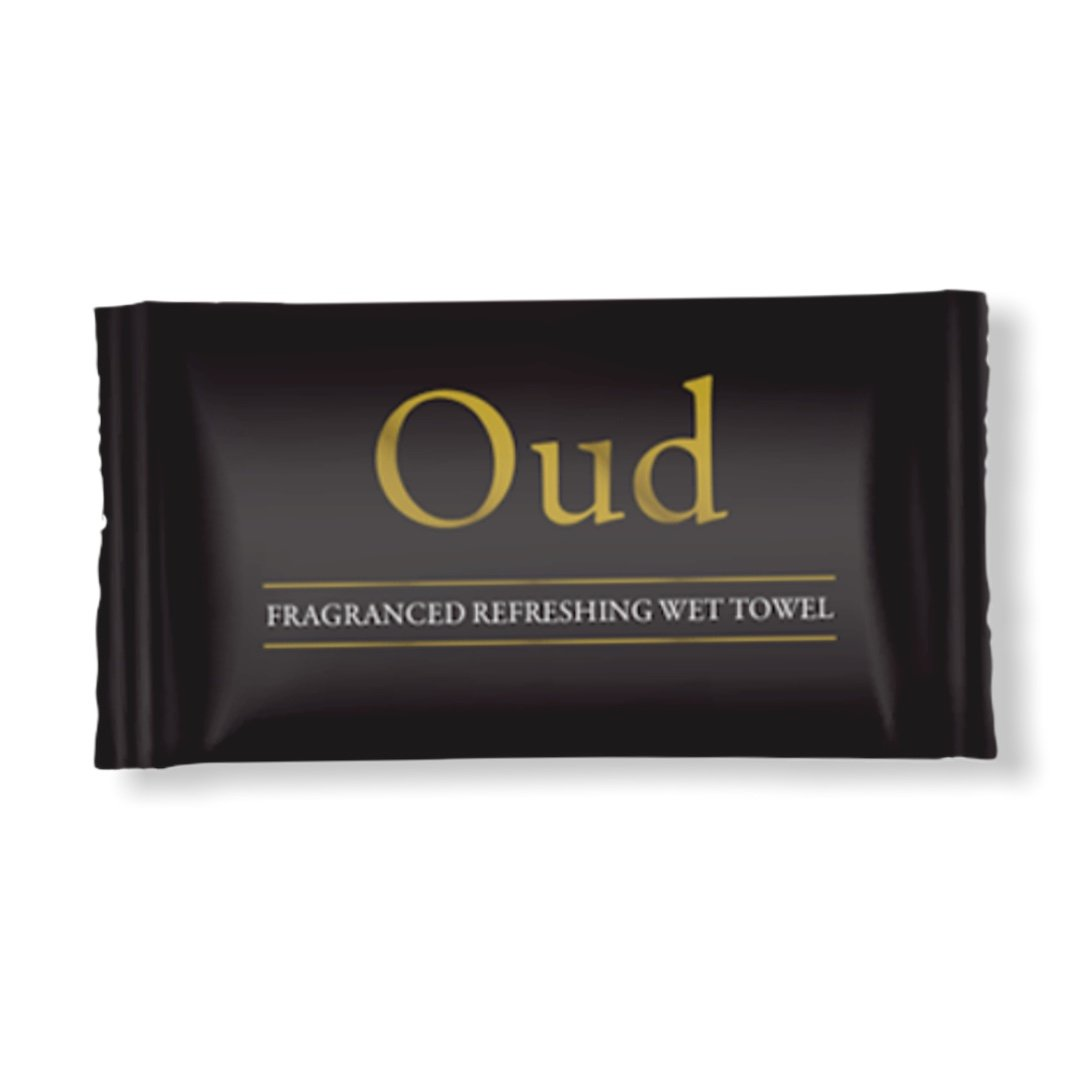 Oud Fragrance Refreshing Wet Towel - Gafbros