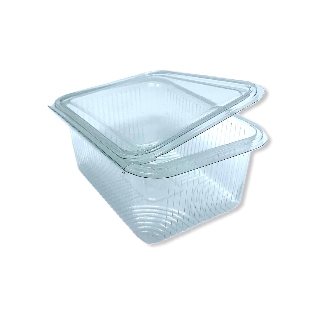 750cc Rectangle Hinged Containers 183x130x55 - Gafbros