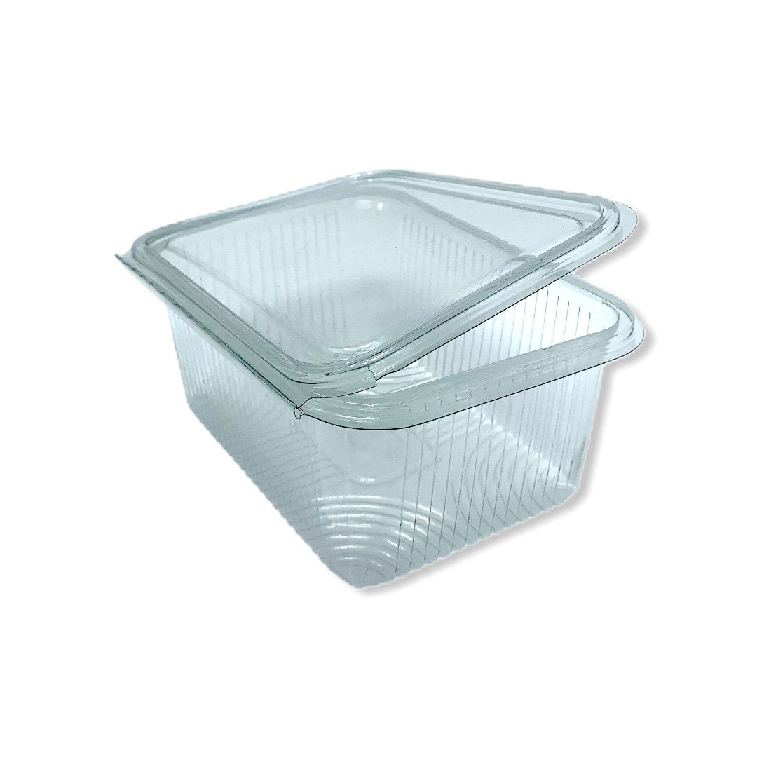 1000cc Rectangle Hinged Containers 183x130x70 - Gafbros