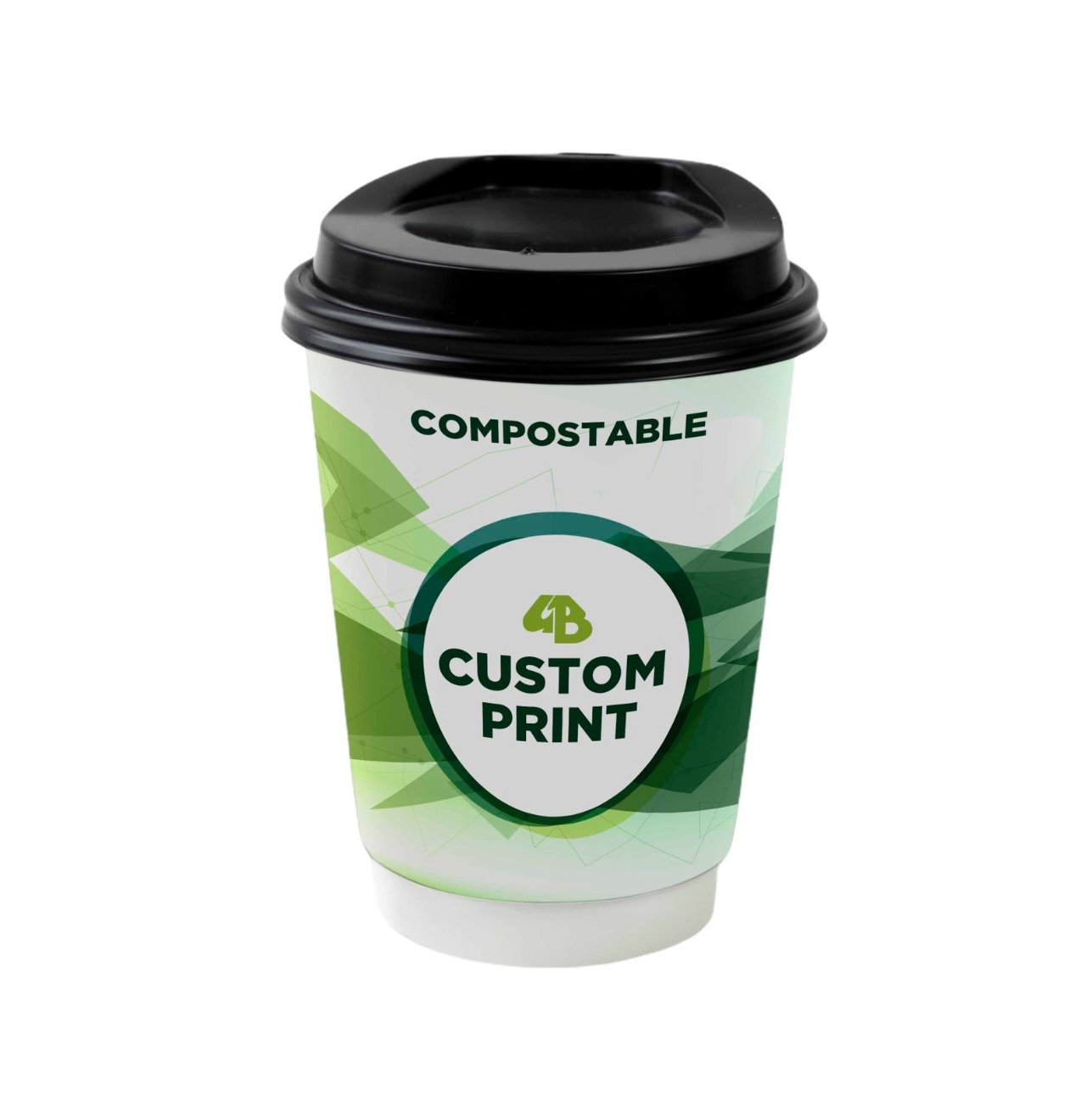 Compostable Double Wall Paper Cups - Gafbros