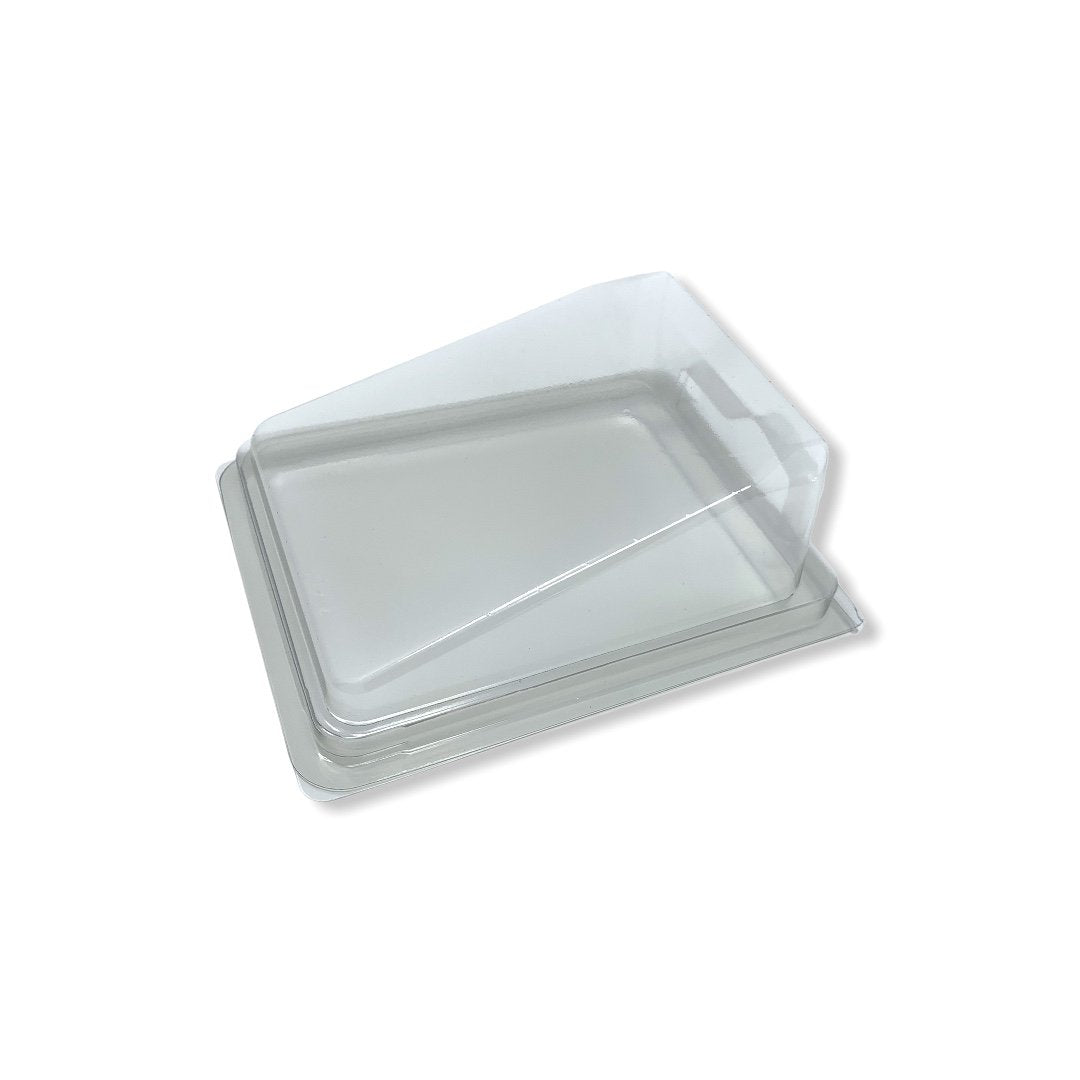 Gateaux Slice Clear Container - Gafbros