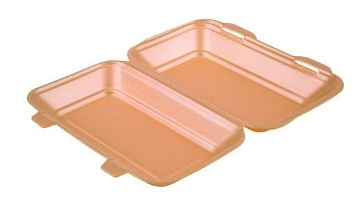 HP3 Champagne Foam Meal Boxes - Gafbros