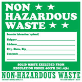 NON - HAZARDOUS - WASTE
