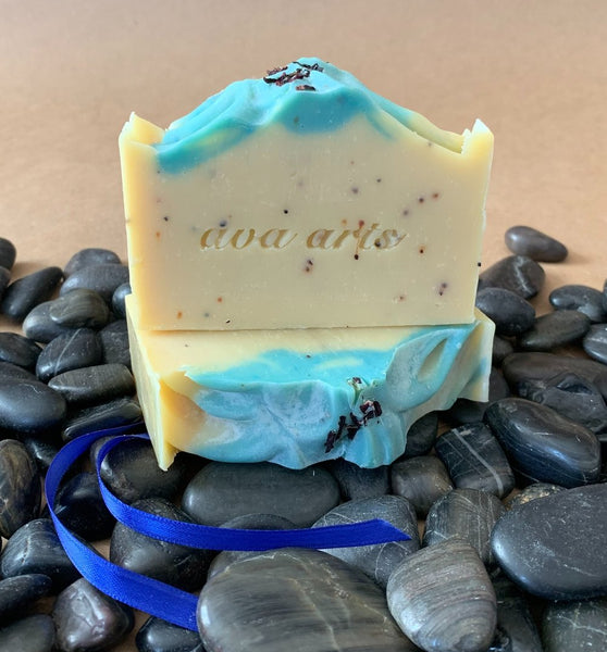 Exfoliating Blueberry Seed Soap