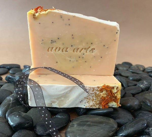Citrus Poppyseed Soap