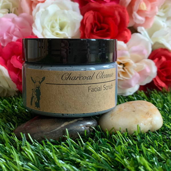 Charcoal Cleanse Facial Scrub