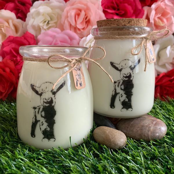 Floral Scented Hand Poured Candles