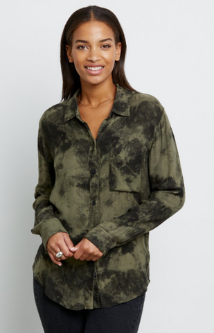 RAILS Hunter Olive Tie Dye - The SMITH