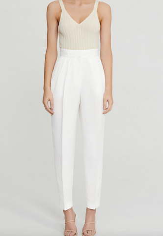 OLIVIA PANT in IVORY - The SMITH