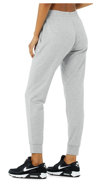 UNWIND SWEATPANT in DOVE GREY HEATHER - The SMITH