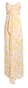 LEONA PRINTED STRAPLESS MAXI - The SMITH