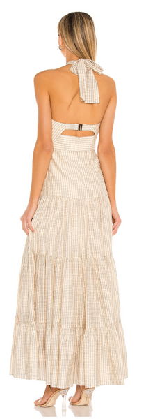 TUSCANY DRESS IN CREAM - The SMITH