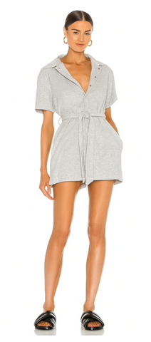 SASHA TERRY ROMPER - The SMITH