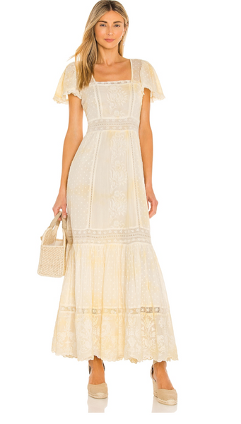 NORMA DRESS in LEMON DROP - The SMITH