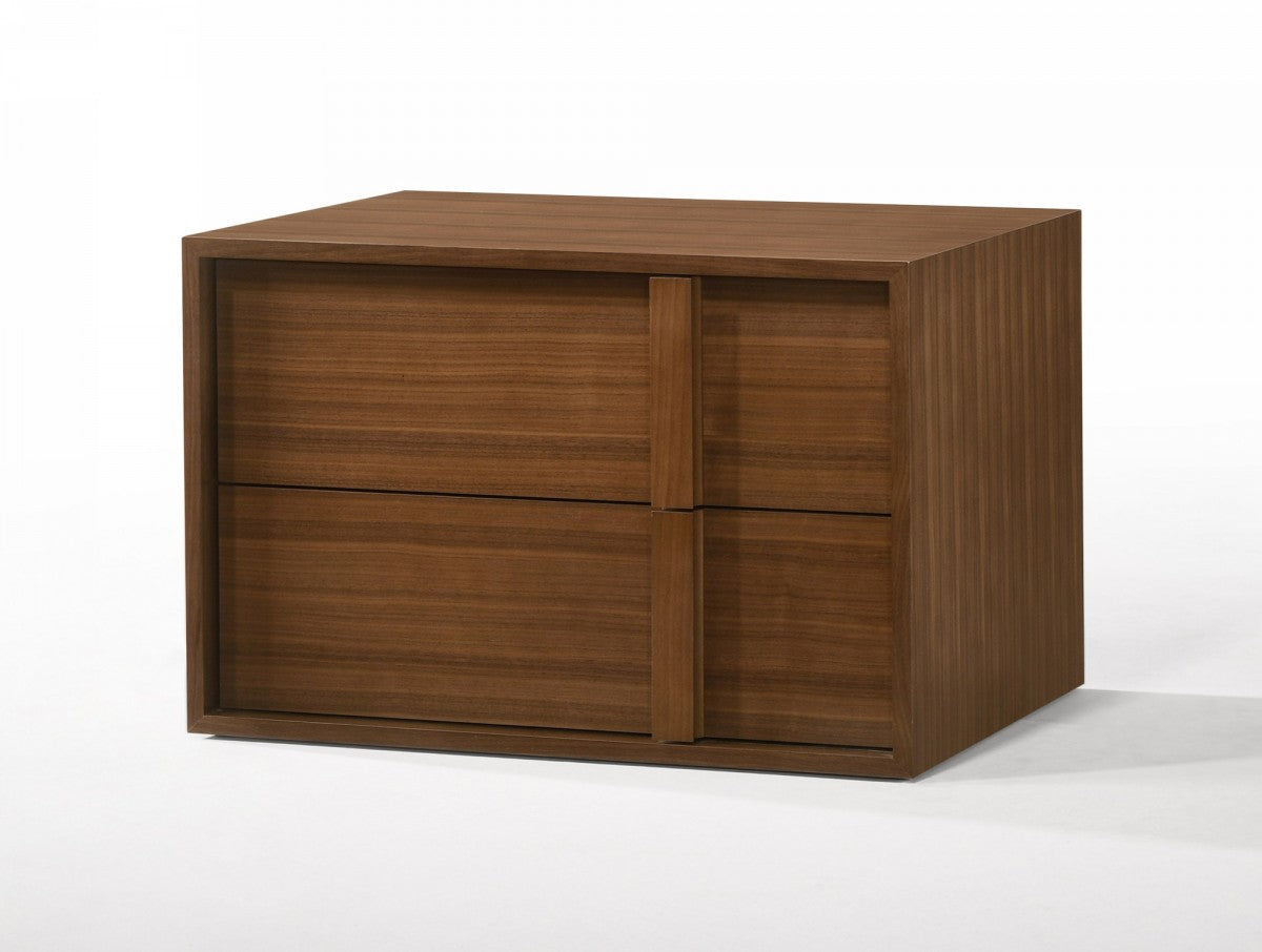 Modrest Berlin - Modern Walnut Nightstand