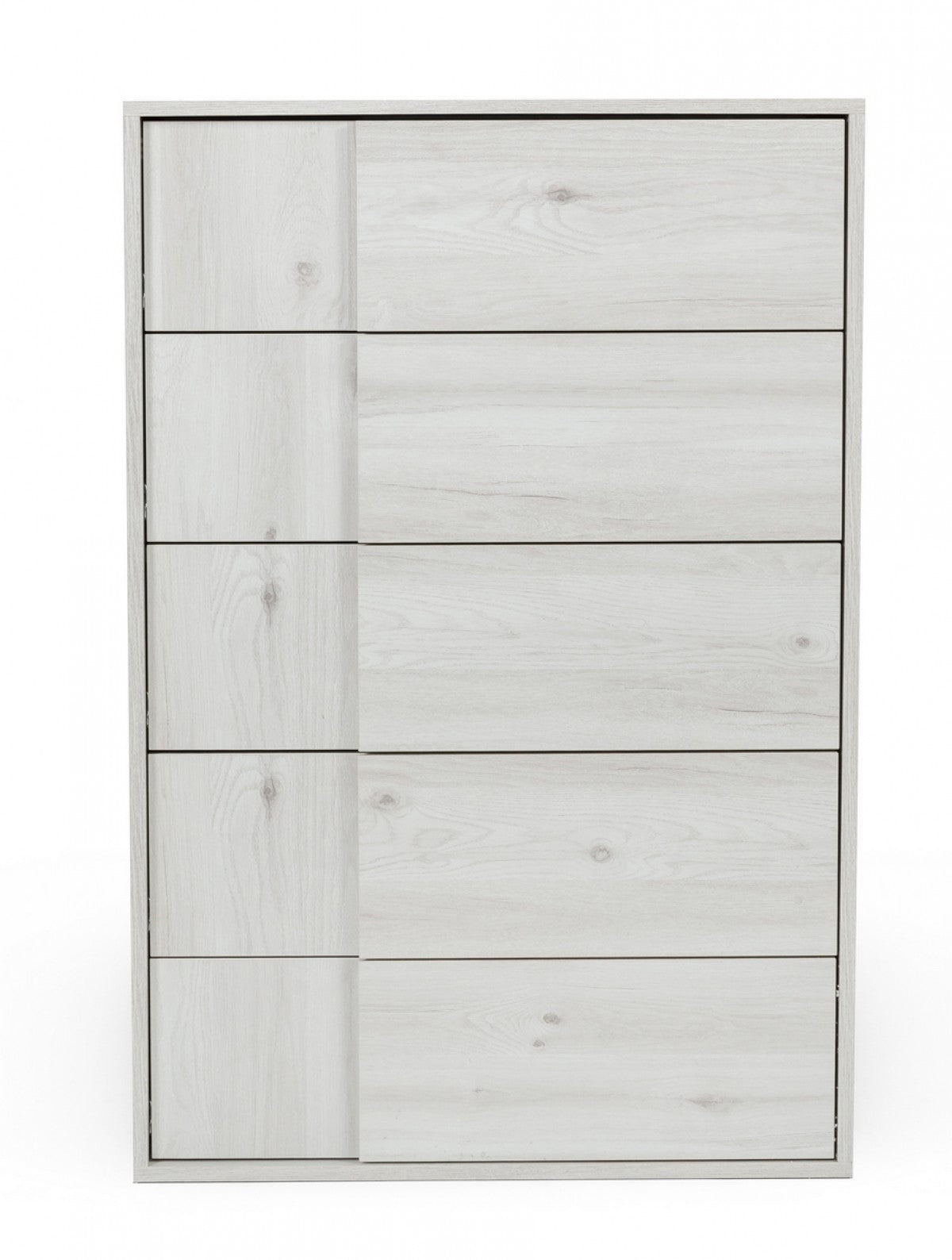 Nova Domus Asus - Italian Modern White Washed Oak Chest