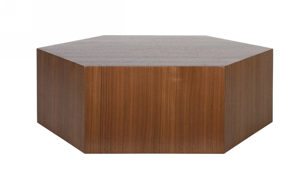 Modrest Newmont - Modern Walnut Coffee Table
