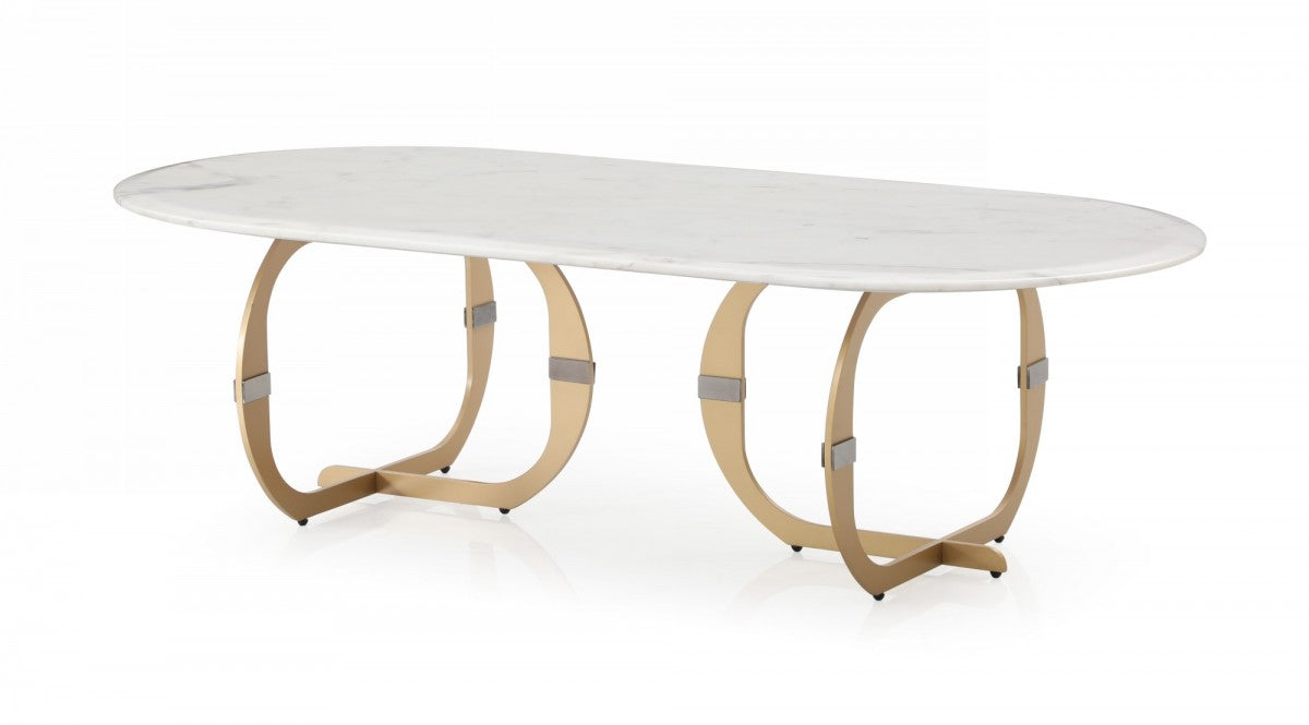 Modrest Haven - Modern Marble Coffee Table