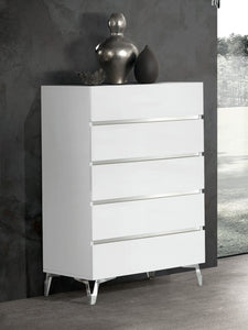 Nova Domus Angela - Italian Modern White Chest