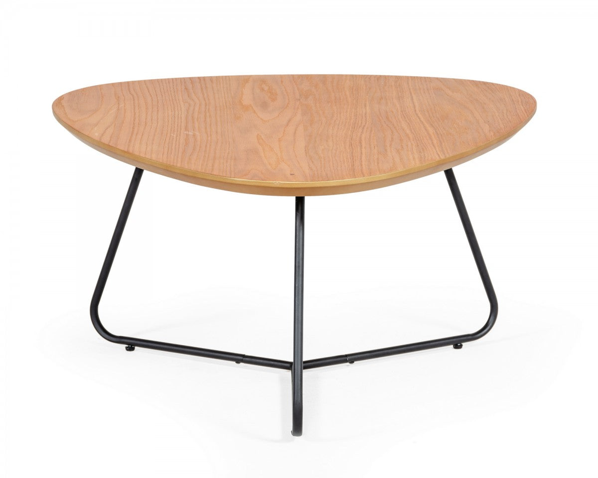 Modrest Eudora - Industrial Oak Coffee Table