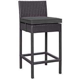 Convene Outdoor Patio Fabric Bar Stool