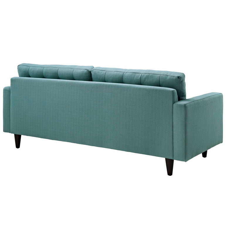 Empress Upholstered Fabric Sofa