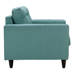 Empress Upholstered Fabric Armchair